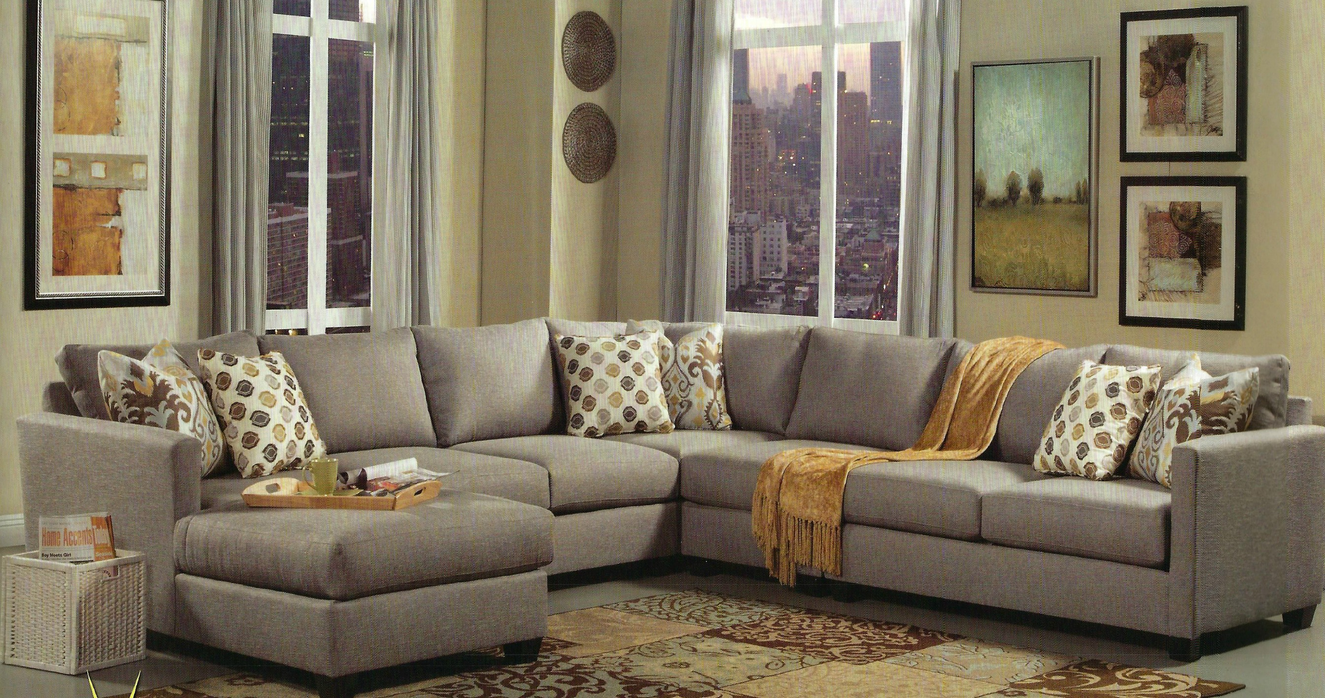 Superbe Brentwood Sectional